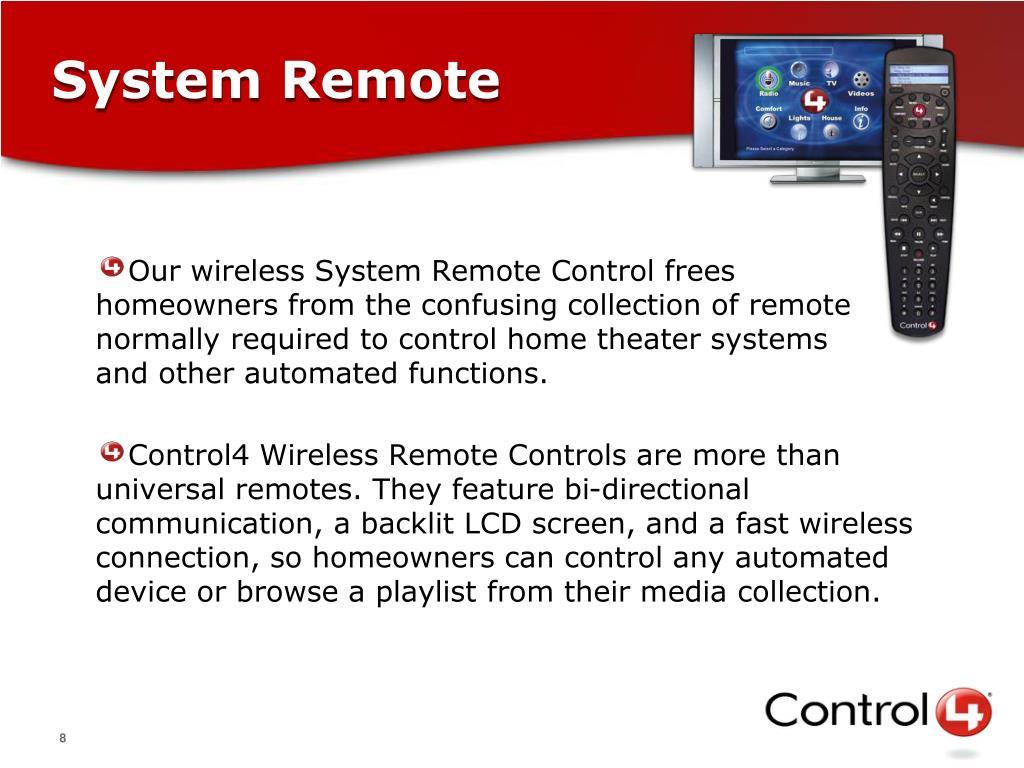 System Remote