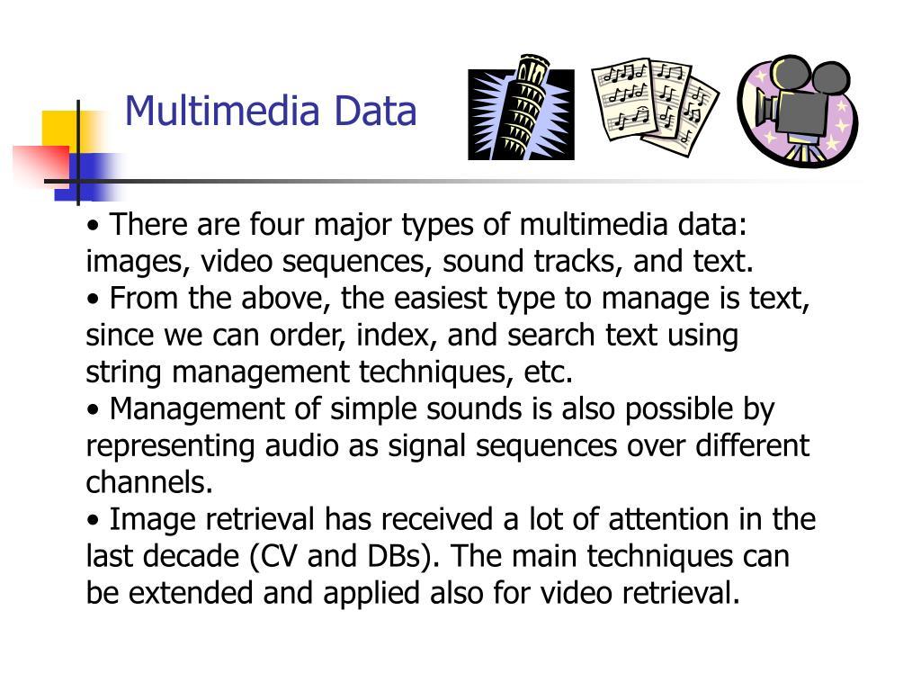 Multimedia Data