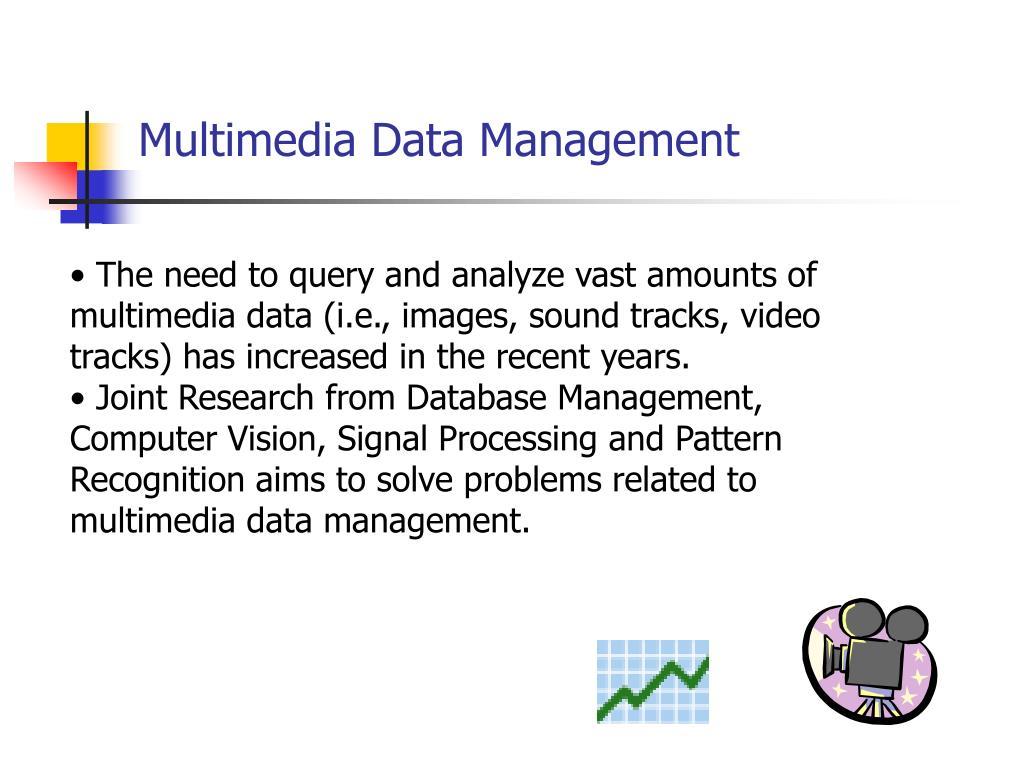 Multimedia Data Management