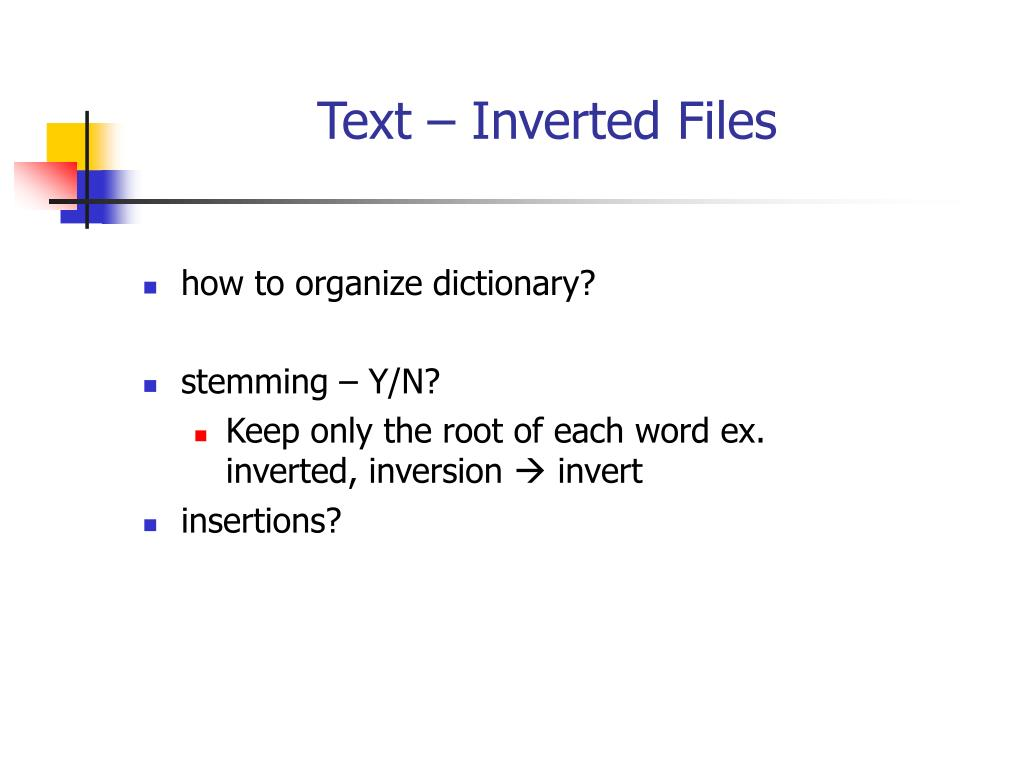 how to organize dictionary?