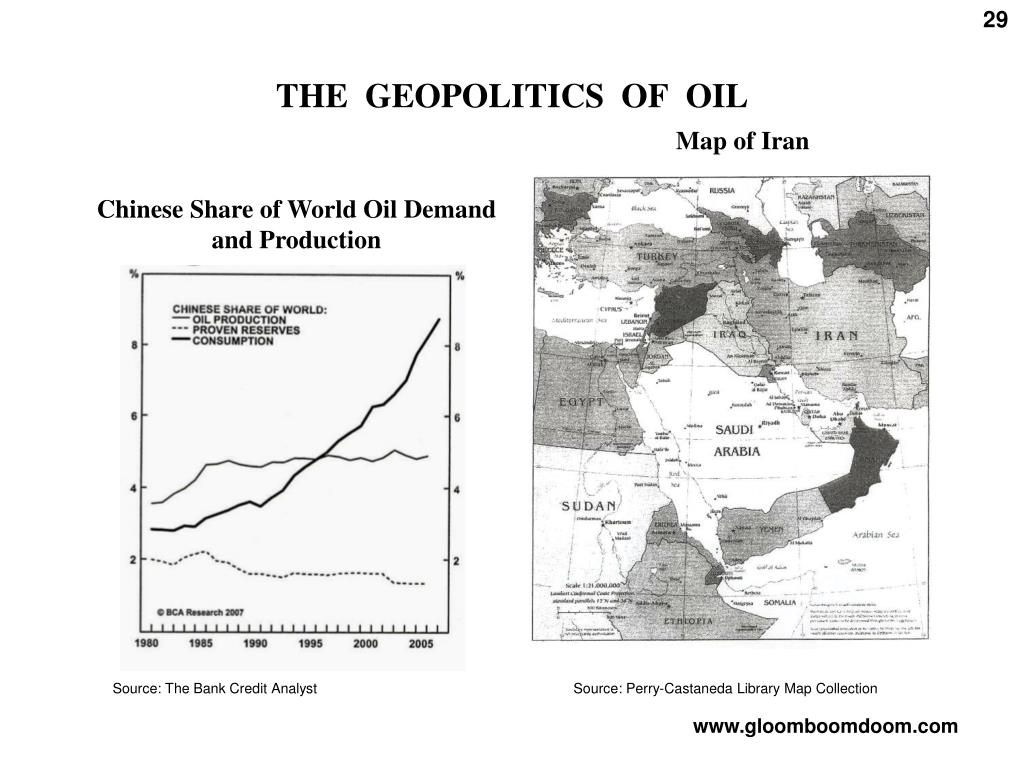 THE  GEOPOLITICS  OF  OIL