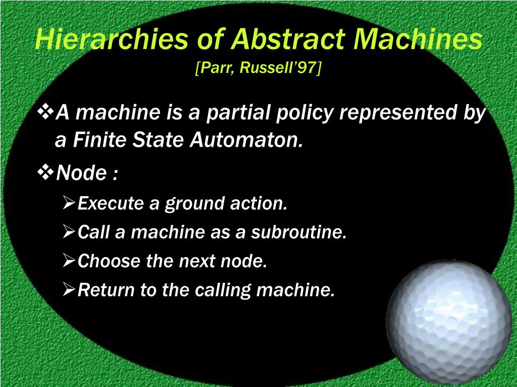 Hierarchies of Abstract Machines