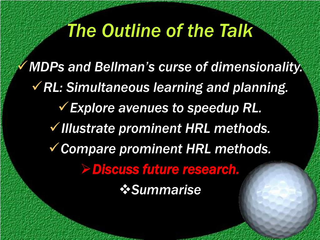 The Outline of the Talk