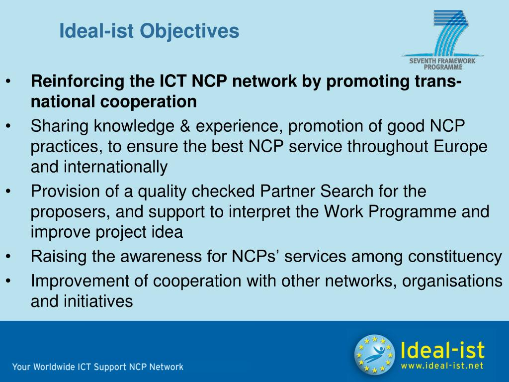 Ideal-ist Objectives