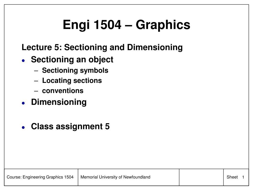 Engi 1504 – Graphics