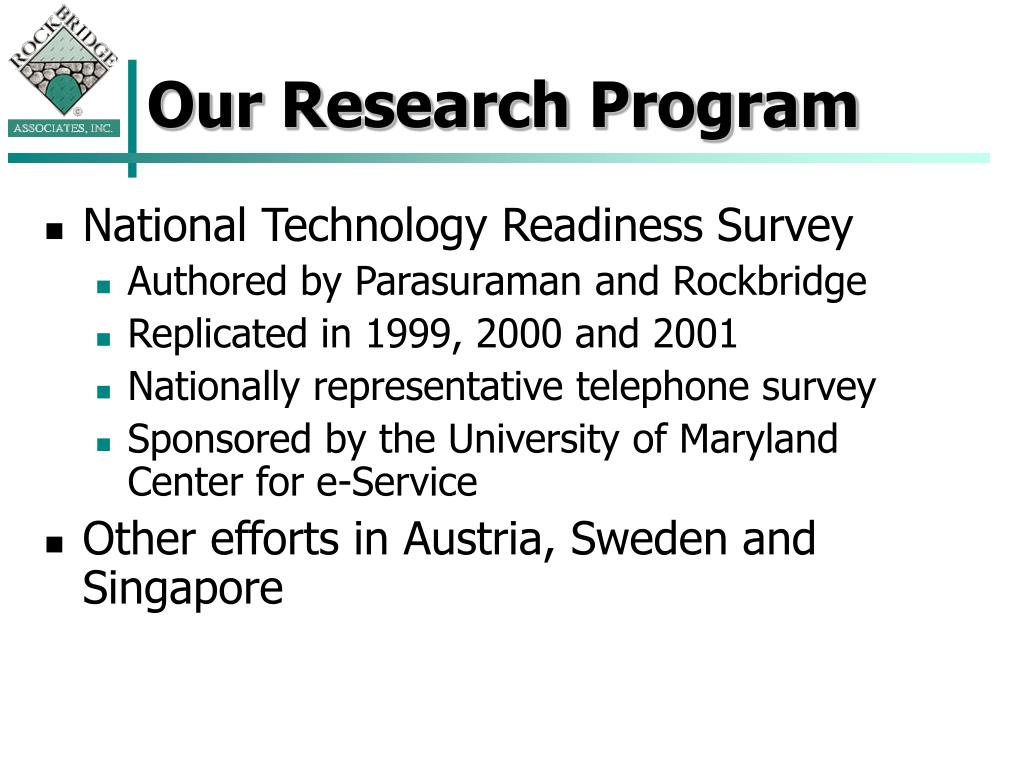Our Research Program