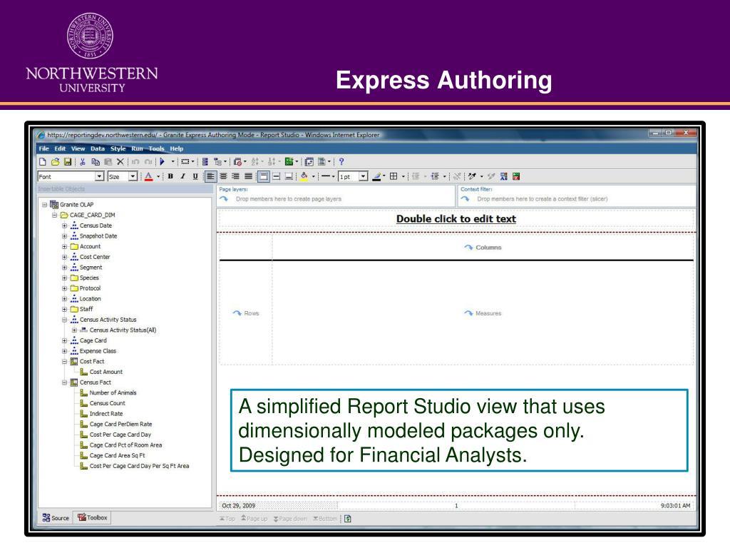 Express Authoring