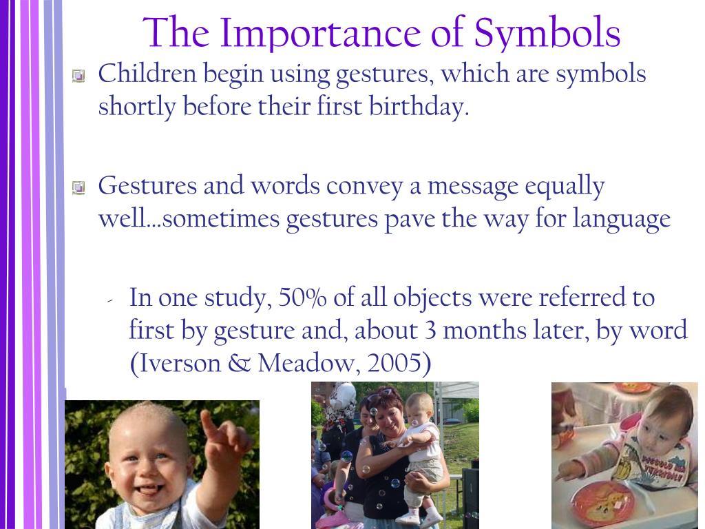 The Importance of Symbols