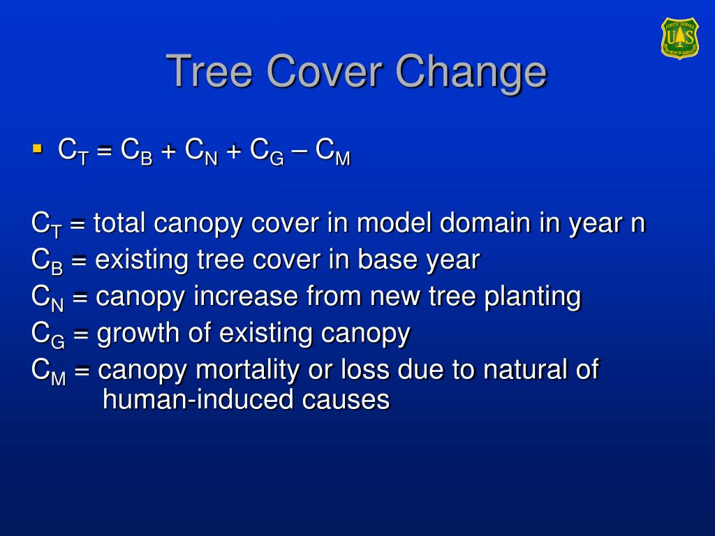 Tree Cover Change