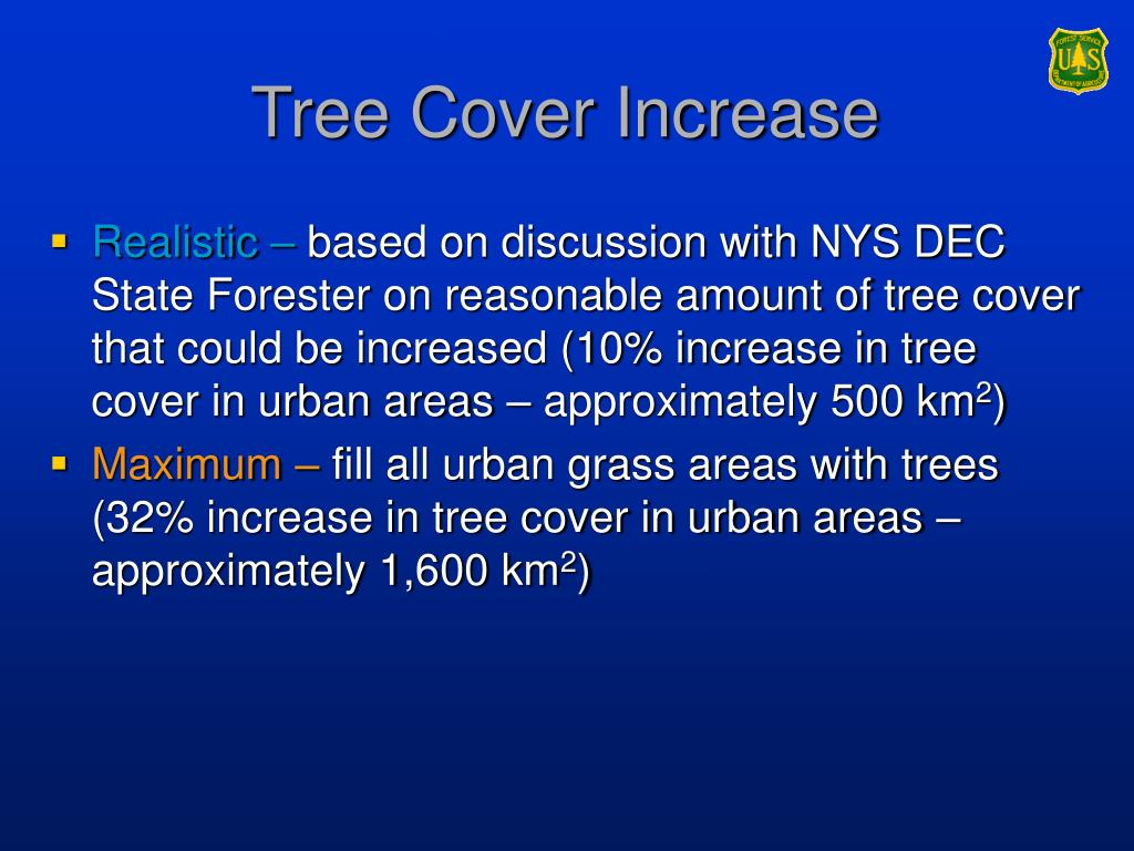 Tree Cover Increase