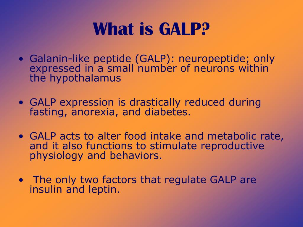 What is GALP?