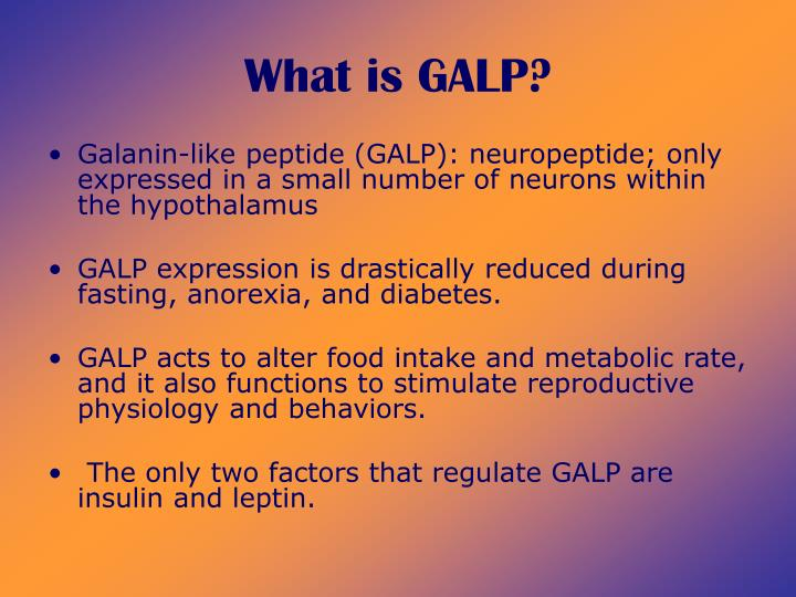 What is galp