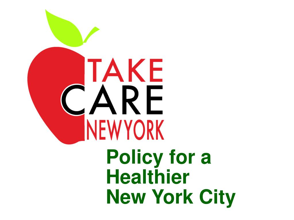 Policy for a Healthier