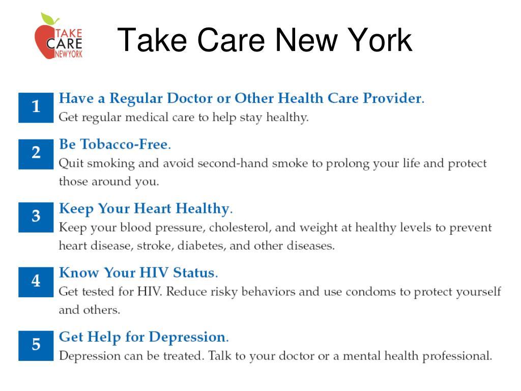 Take Care New York