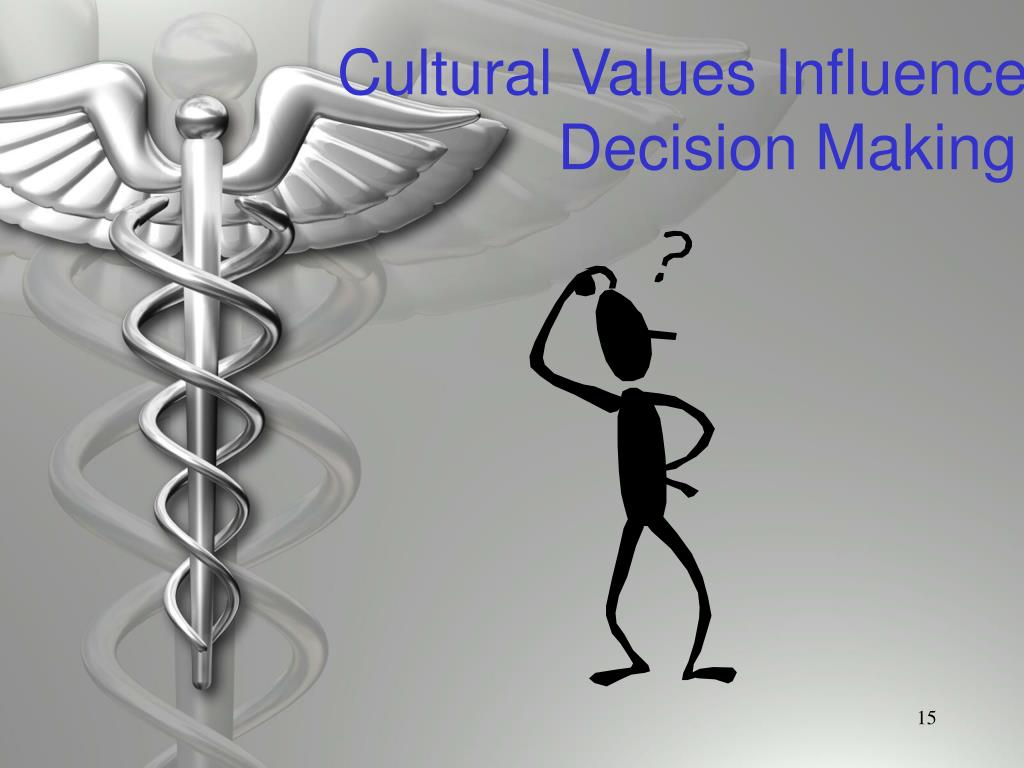 Cultural Values Influence