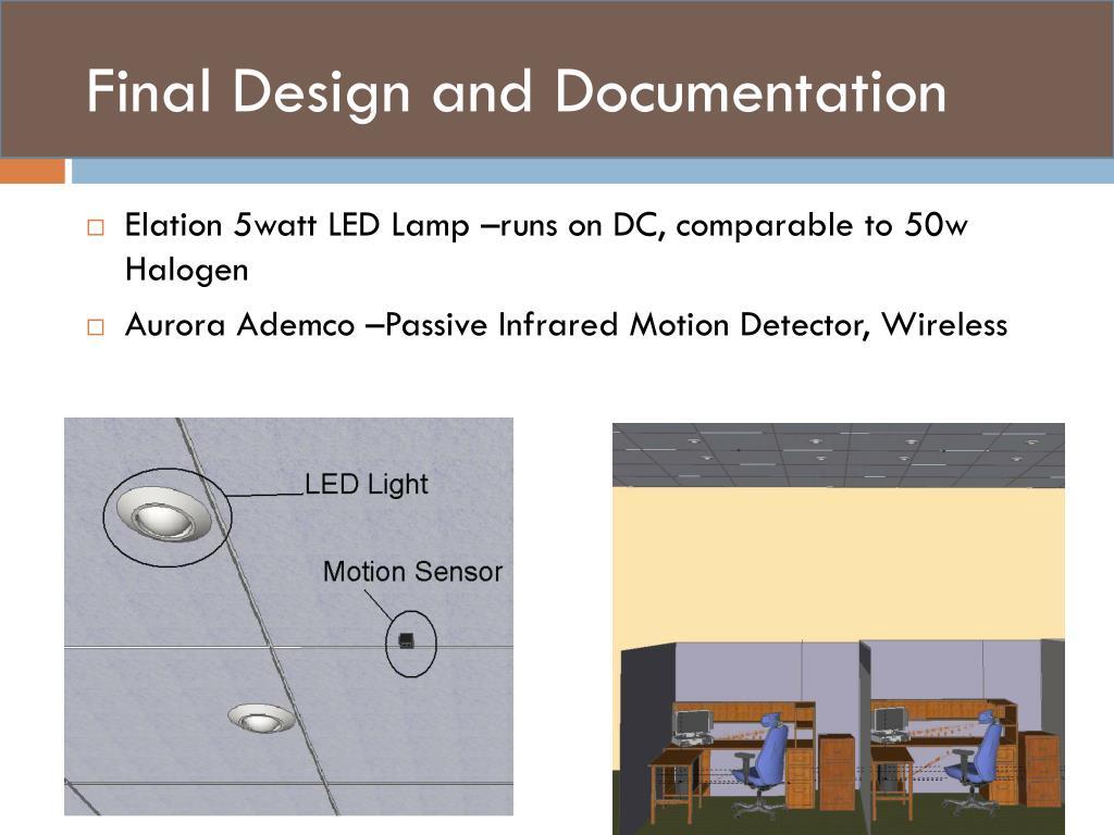 Final Design and Documentation