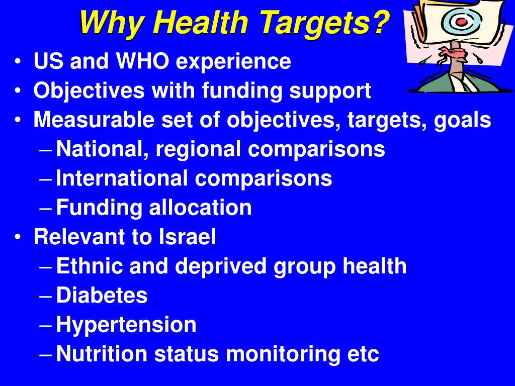 Why Health Targets?