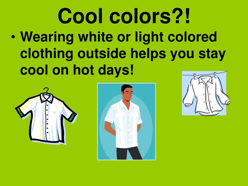 Cool colors?!