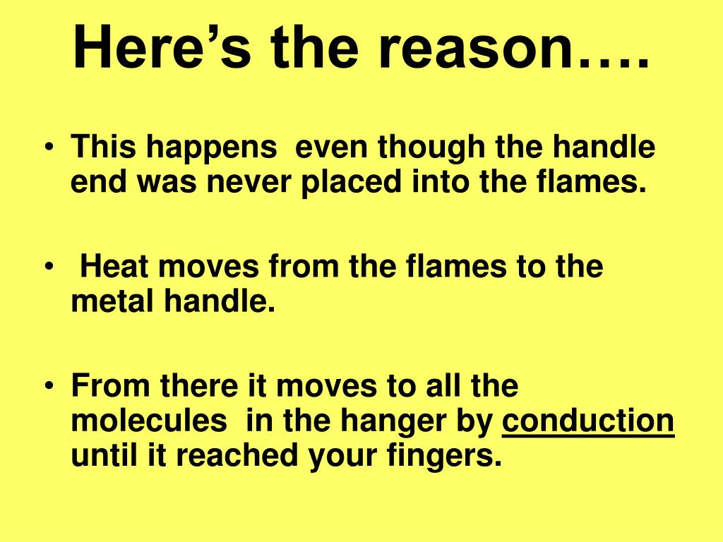 Here's the reason….