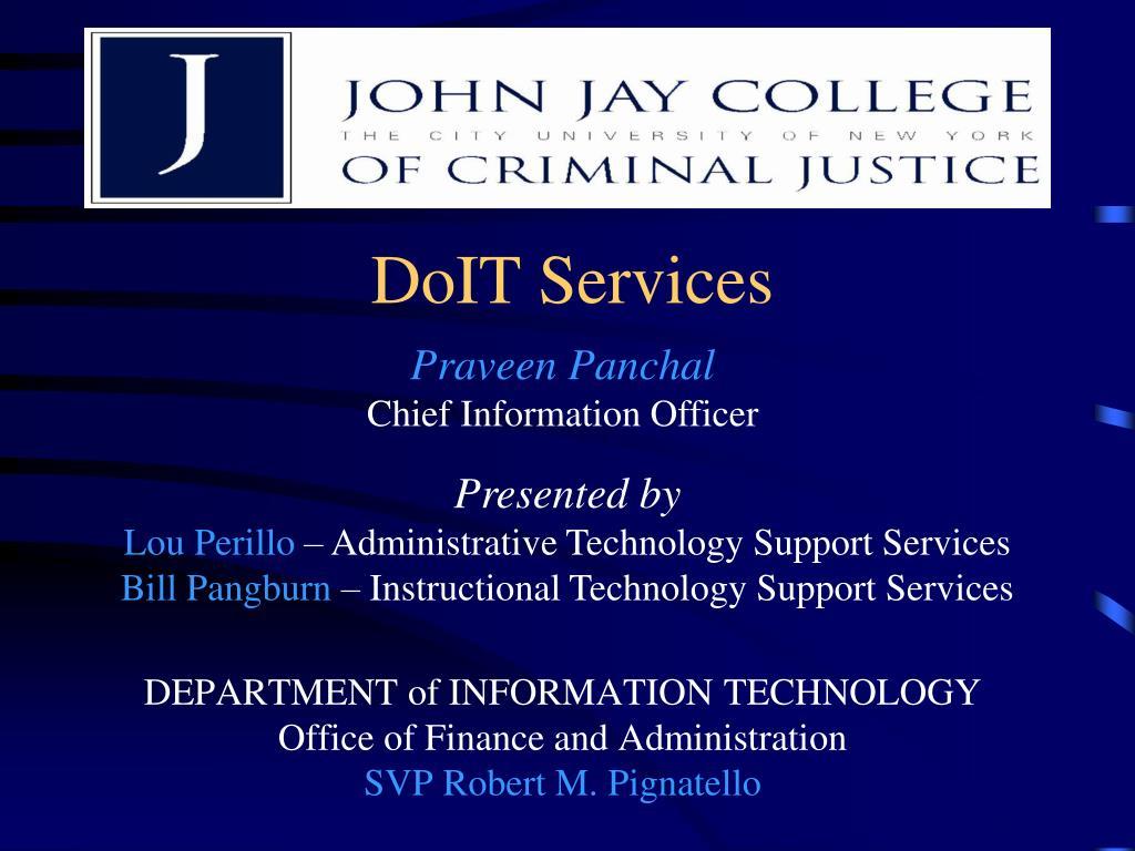 DoIT Services