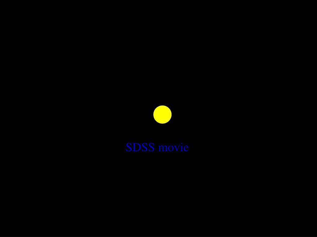 SDSS movie