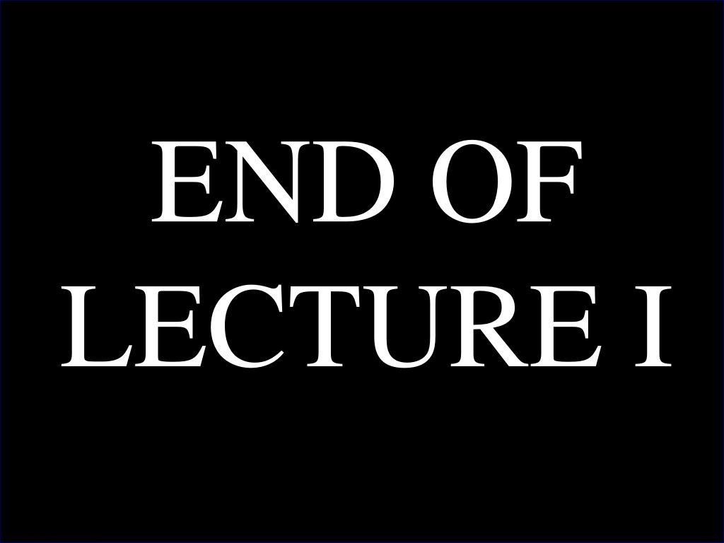 END OF