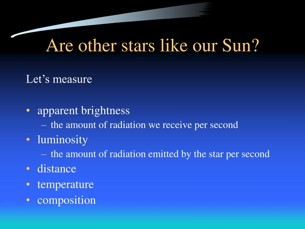 Are other stars like our Sun?