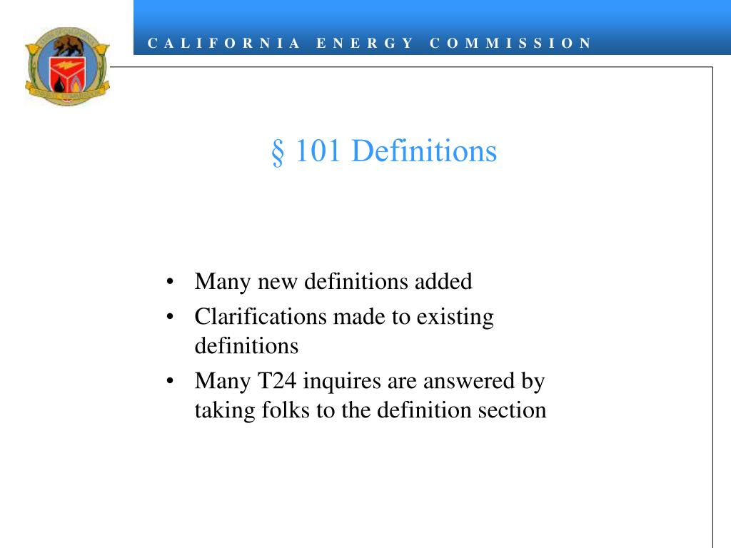 § 101 Definitions