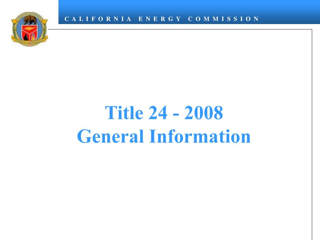 Title 24 - 2008