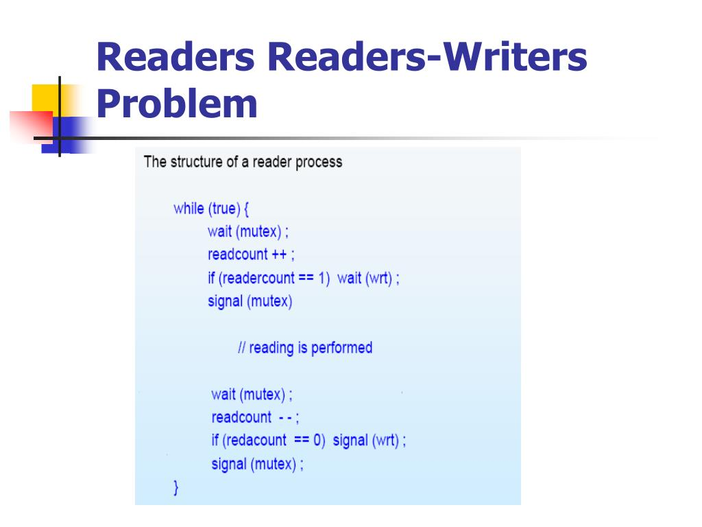 Readers Readers-Writers Problem