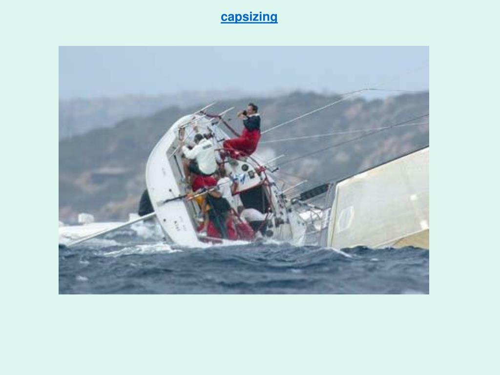 capsizing