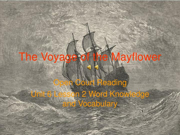The voyage of the mayflower l.jpg