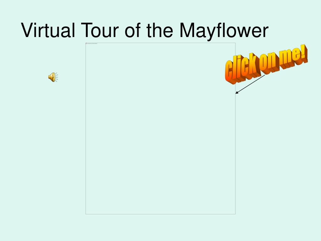 Virtual Tour of the Mayflower
