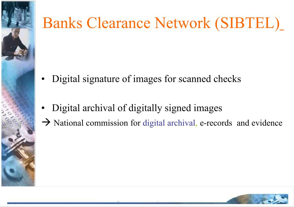 Banks Clearance Network (SIBTEL)