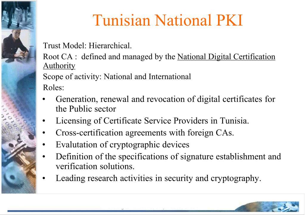 Tunisian National PKI