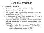 bonus depreciation66