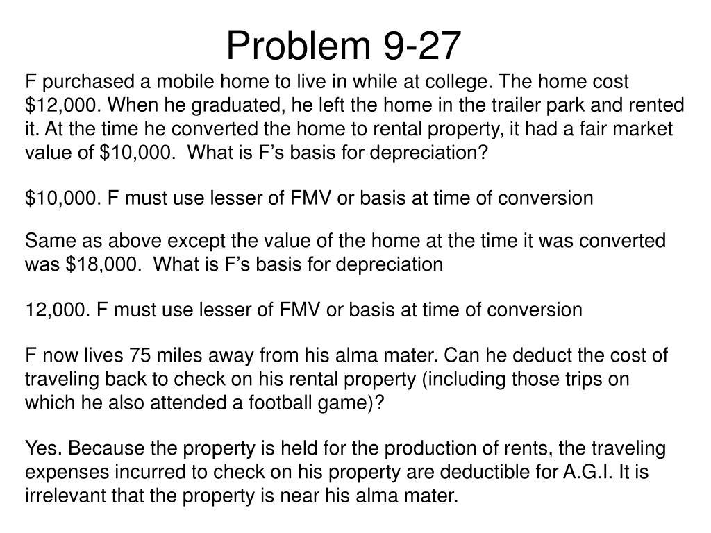 Problem 9-27