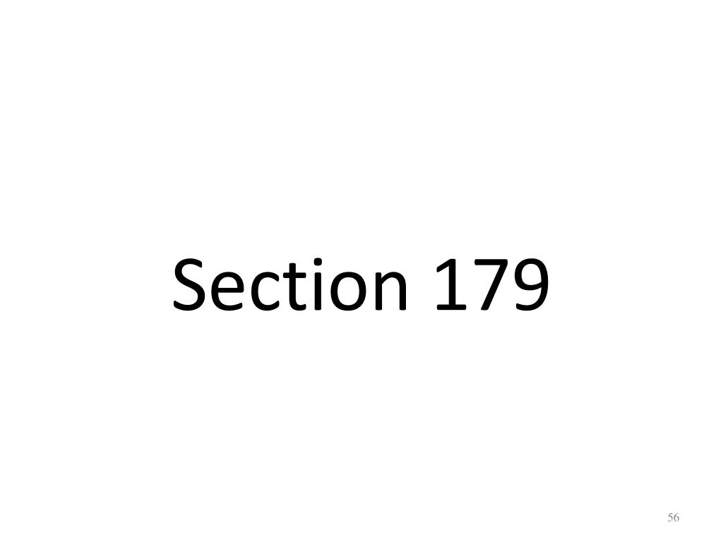 Section 179