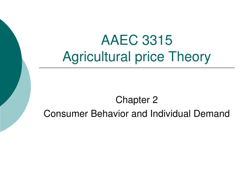 AAEC 3315