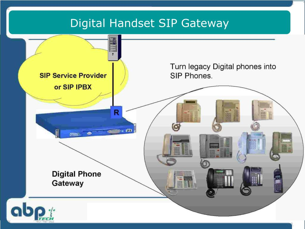 Digital Handset SIP Gateway