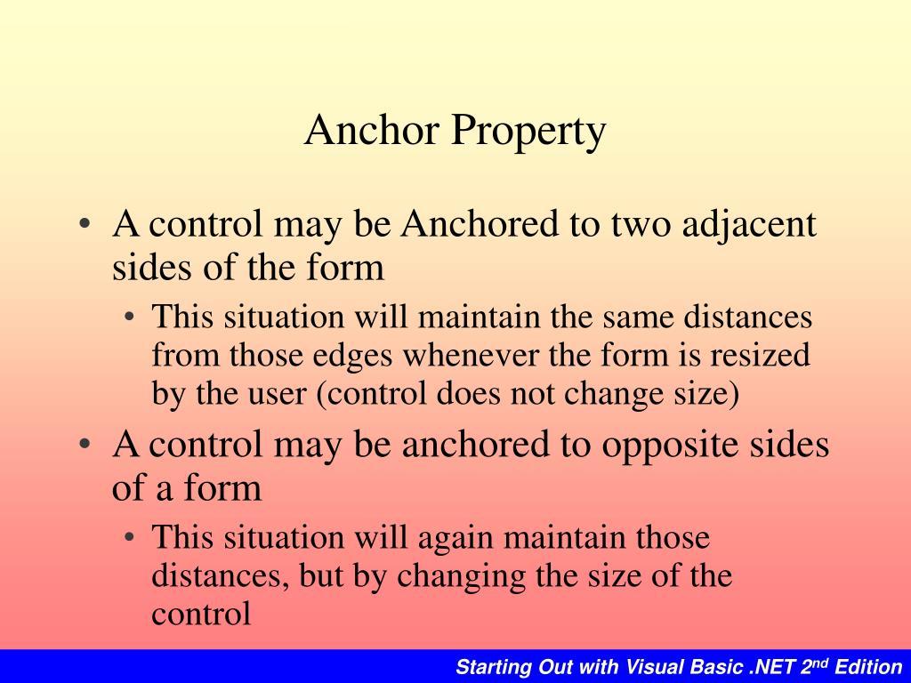 Anchor Property
