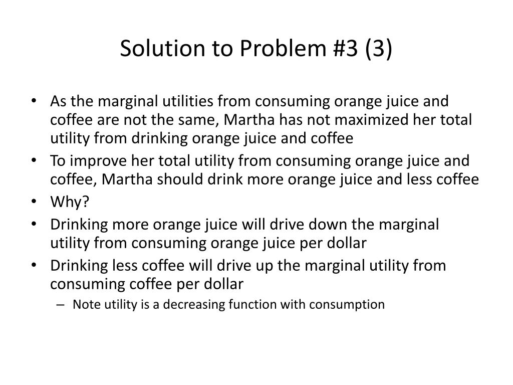 Solution to Problem #3 (3)