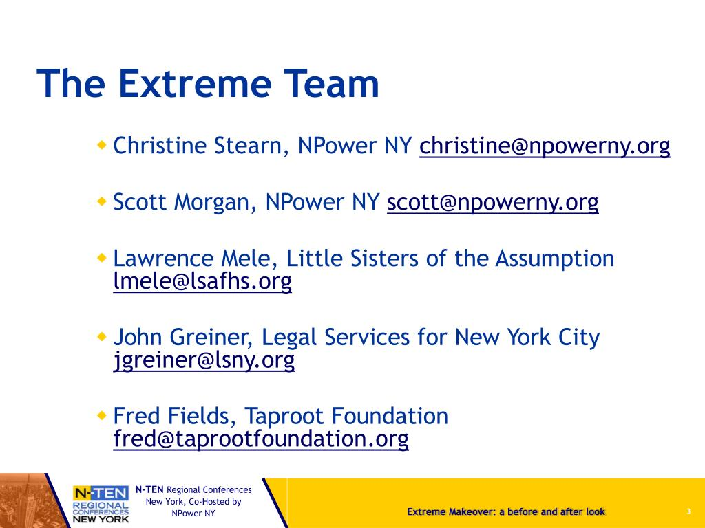 The Extreme Team