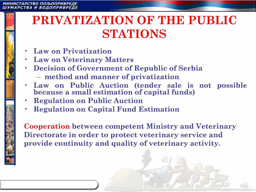 PRIVATIZATION OF THE PUBLIC STATIONS