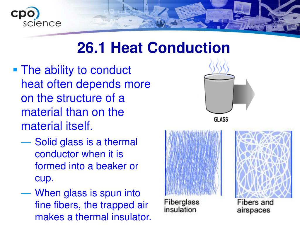 26.1 Heat Conduction