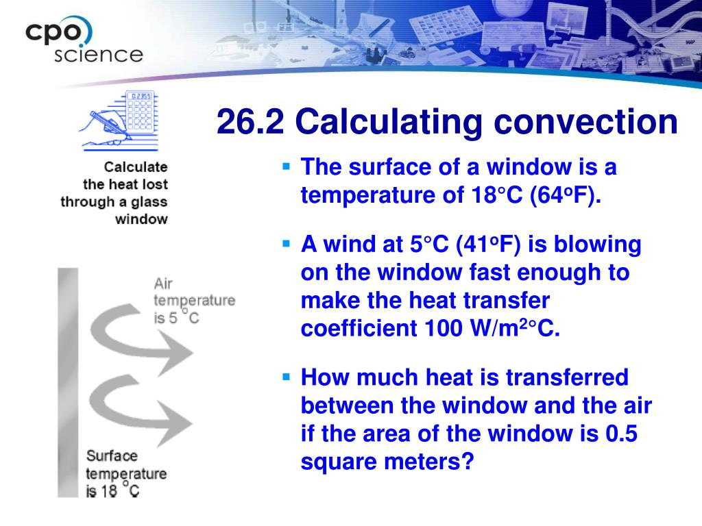 26.2 Calculating convection
