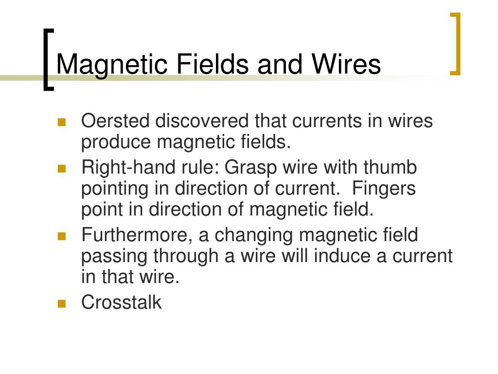Magnetic Fields and Wires
