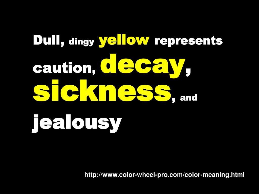 Dull,