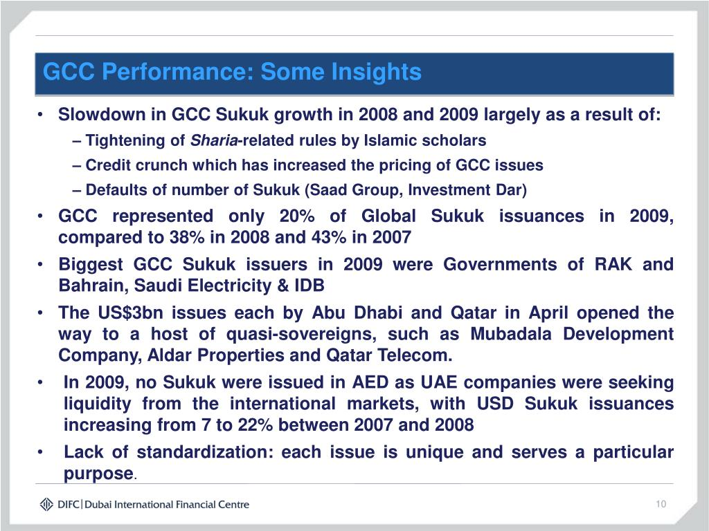 GCC Performance: Some Insights