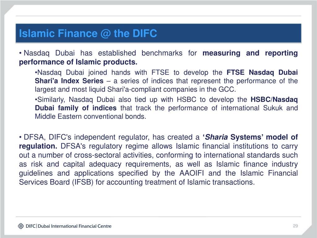 Islamic Finance @ the DIFC